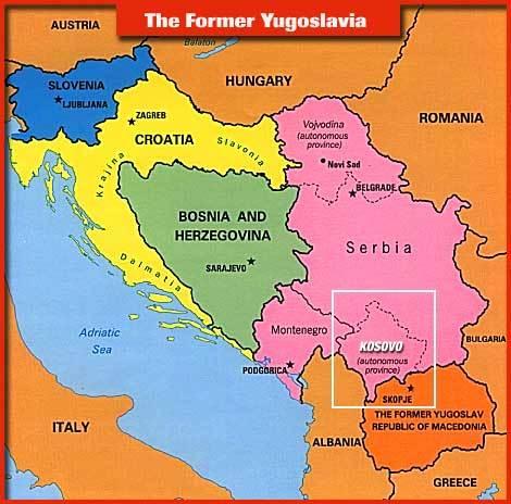 Cartina Jugoslavia.Racconti Dall Ex Jugoslavia